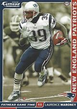 LAURENCE MARONEY NEW ENGLAND PATRIOTS FATHEAD TRADEABLES 2008 #G123