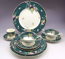 Royal Doulton England Green Set 10pc