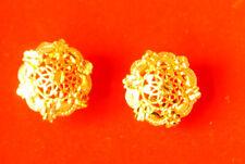 Dall'aspetto reale Orecchini a Perno Placcato Oro, 22 K Indiano Ragazze Orecchini