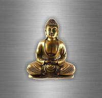 Sticker decal vinyl car bumper buddha buddhism yoga om ohm mandala  decoration