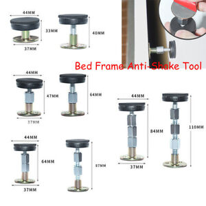 Adjustable Bed Frame Anti-Shake Threaded Fixed Tool Wall Support Self Adhesive