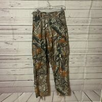 """Men's Outfitters Ridge Camo Cargo Pants - Small 28"""" x 31"""" Tan Brown Hunting Pant"""