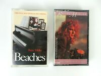 Vintage Bette Midler Some People's Lives / Beaches Cassette Tapes Lot of 2
