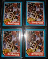 David Robinson 1990 Fleer Rookie Sensation lot of 4 CARDS NICE LOT card # 1