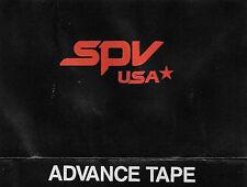 Various New Music Seminar Sampler  SPV USA-SPV GMBH '88 CASSETTE ALBUM Indie