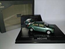 1/43 Renault Megane 2 Classic Vert Cuivre 2003 Norev ref: 7711224097 Comme neuf
