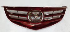 2004 2005 2006 MAZDA 3 GS, S, SEDAN, HATCHBACK RED FRONT GRILL W/ EMBLEM OEM