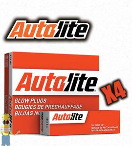 Autolite 1111 Glow Plug - Set of 4