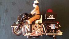 """Vintage Fantasy Highway Patrol """"Shovelhead"""" Harley Toy Motorbike - Sound Effects"""