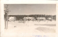 Vintage Photo, Farm in Winter at Stouffville Ontario, C1940s