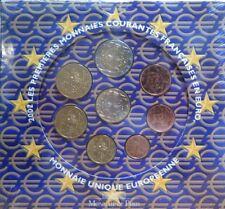 004 - COFFRET BU - EUROS FRANCE  - 2002 : sous blister