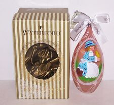 WATERFORD HOLIDAY HEIRLOOMS ITALY PINK SPRING CHICK EASTER EGG ORNAMENT IN BOX