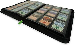 Premium Binder folder protector album - Holds 360 trading cards TCG MTG Pokemon