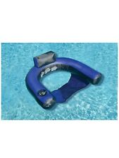 Pool Inflatable Chair Fabric Covered U-Seat (a)
