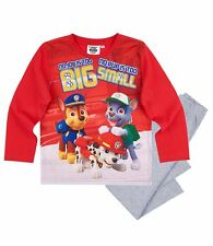 Boys Kids Official Licensed Disney Various Character Long Sleeve Pyjamas PJs 18 Paw Patrol #2 4 - 5 Years