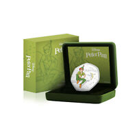 Peter Pan Extremely Rare Limited Edition 50p Shaped Disney Collectable Coin