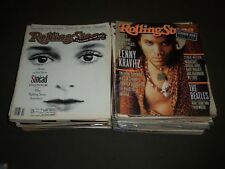 1990S ROLLING STONE MAGAZINE LOT OF 50 ISSUES - GREAT COVERS & PHOTOS - PB 71