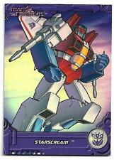 2013 Breygent Transformers Optimum Collection G1 Foil Cards TF12 Starscream