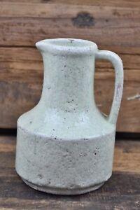 1 Krug Vase Deco Farbe:Spring Green, Grün, Jug Neo craquele Keramik von BRYNXZ