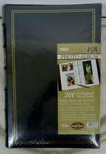 Set Of 2 Pioneer Bi-Directional Photo Album Navy Blue Bonded Leather - 200 Slip