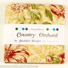 "Moda FABRIC Charm Pack ~ COUNTRY ORCHARD ~ by Blackbird Designs 42 - 5"" squares"