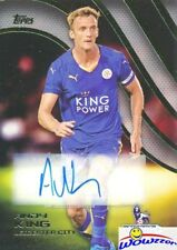 2015 Topps Premier League Gold Andy King Autograph Mint