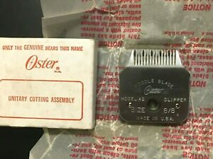 VINTAGE-NOS-Oster Replacement Poodles blade-size-8/8-Free Shipping