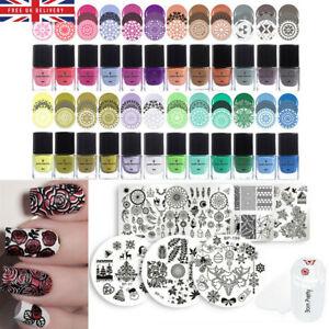 BORN PRETTY Nail Art Stamping Polish for Stamping Plates Printing Nail Varnish