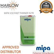 MIPA 271150000 V10 FAST 2K THINNER REDUCER 5LTR *NEXT DAY DELIVERY*