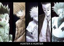 POSTER HUNTER X HUNTER GON FREECSS JIN KILLUA ZAOLDYECK KURAPIKA ANIME MANGA #5