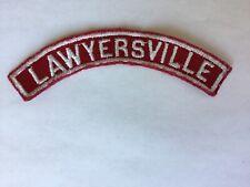 Lawyersville RWS Red & White Community Strip
