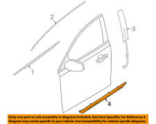 Lincoln FORD OEM 09-15 MKS Front Door-Lower Molding Trim Left 8A5Z5420879AA