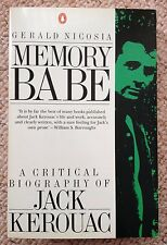Memory Babe Critical Biography Jack Kerouac Nicosia Beat Poet Writer Generation