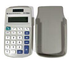 Texas Instruments Ti-1706+ Small Solar School Calculator With Cover