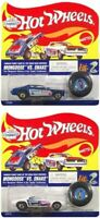 Hot Wheels Mongoose VS. Snake Complete 2 Car Set w/ Collector Buttons, New, Mint