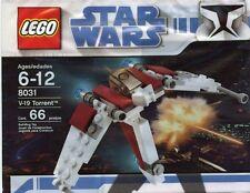 Lego Star Wars V-19 Torrent 8031-Polybeutel Brandneu in OVP