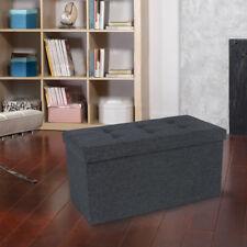 Gebraucht Faltbarer Sitzhocker Sitzwürfel Aufbewahrungs Box Bank L183186B+LSF47K