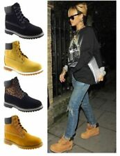 Flat (0 to 1/2 in.) Combat Boots Casual Boots for Women