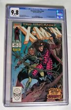 X MEN #266 CGC 9.8 NM-MINT 1990 OW-WHITE PAGES FIRST APPEARANCE GAMBIT