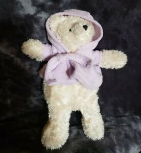 Avon Canada Inc Plush Teddy in soft purple shower coat