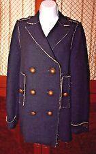 LANVIN Women's Wool  Coat  Jacket size 36 EUR