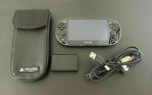Sony PlayStation Vita PS Vita Console WiFi PCH-1003 Boxed OLED *MINT* Screen