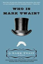 Who Is Mark Twain? (Paperback or Softback)