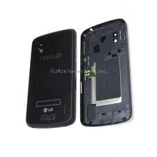 LG Google Nexus 4 E960 Back Battery Door Glass Cover Housing + NFC Black