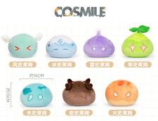 MiHoYo Original Genshin Impact ZhongLi Ray Wind Rock Slime Plush Doll Toy Sa