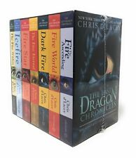 The Last Dragon Chronicles Collection 7 Books Box Set by Chris d   Chris D'Lacey
