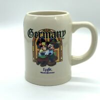 Mickey and Minnie Mouse Germany Disney Parks World Showcase Stein Mug Coffee Cup