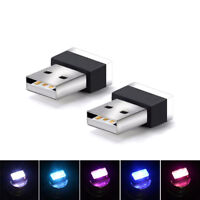 New LED USB Car Atmosphere Light Wireless Interior Lighting Decorative Accessory