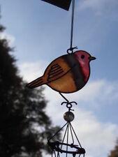 Carillons et mobiles rouge pour décoration de jardin