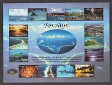 Penrhyn, Cook Islands 2011 Tourism stamps and S/S, Sc 487 - 501, 501a